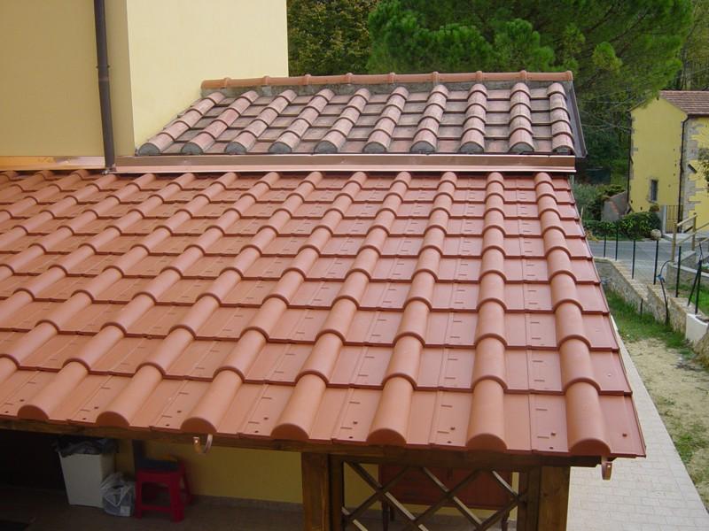 Barsotti legnami vendita tettoie con guaina a caldo e for Immagini di tettoie in legno