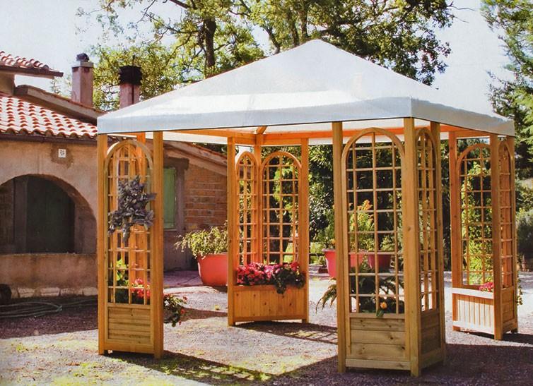 Barsotti legnami vendita patio e gazebo per arredamento giardino