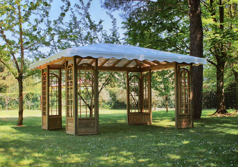 Barsotti legnami vendita patio e gazebo per arredamento for Gazebo per auto usato