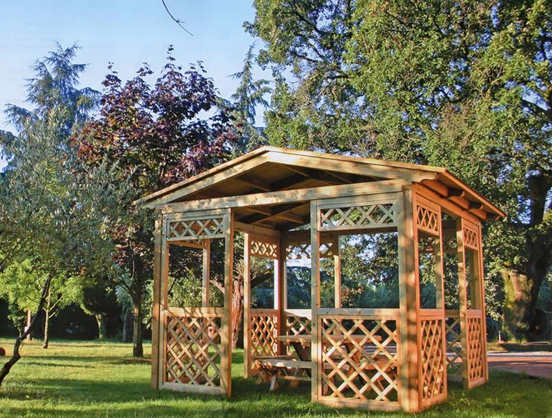 Barsotti legnami vendita patio e gazebo per arredamento for Gazebo legno arredamento