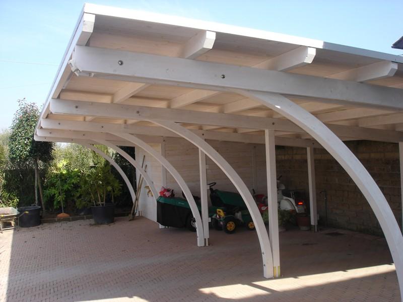 Barsotti legnami vendita carport garage in legno car box for Garage per auto modulari 3