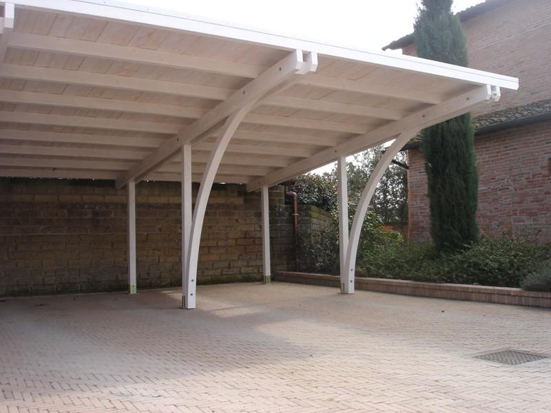 Barsotti Legnami - vendita carport garage in legno car box da giardino per riparare auto zona ...