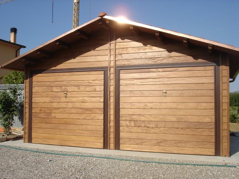 Barsotti legnami vendita carport garage in legno car box for Carport 2 posti