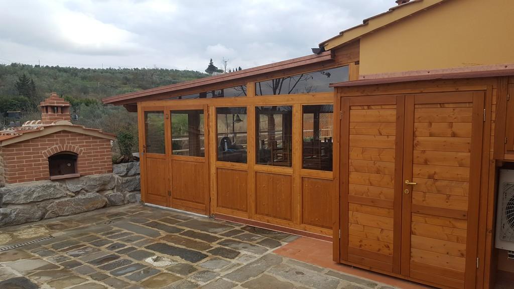 With foto verande in legno for Bocchio serramenti